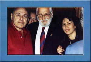 Gerson e Teresa Bergher com Albert Sabin.